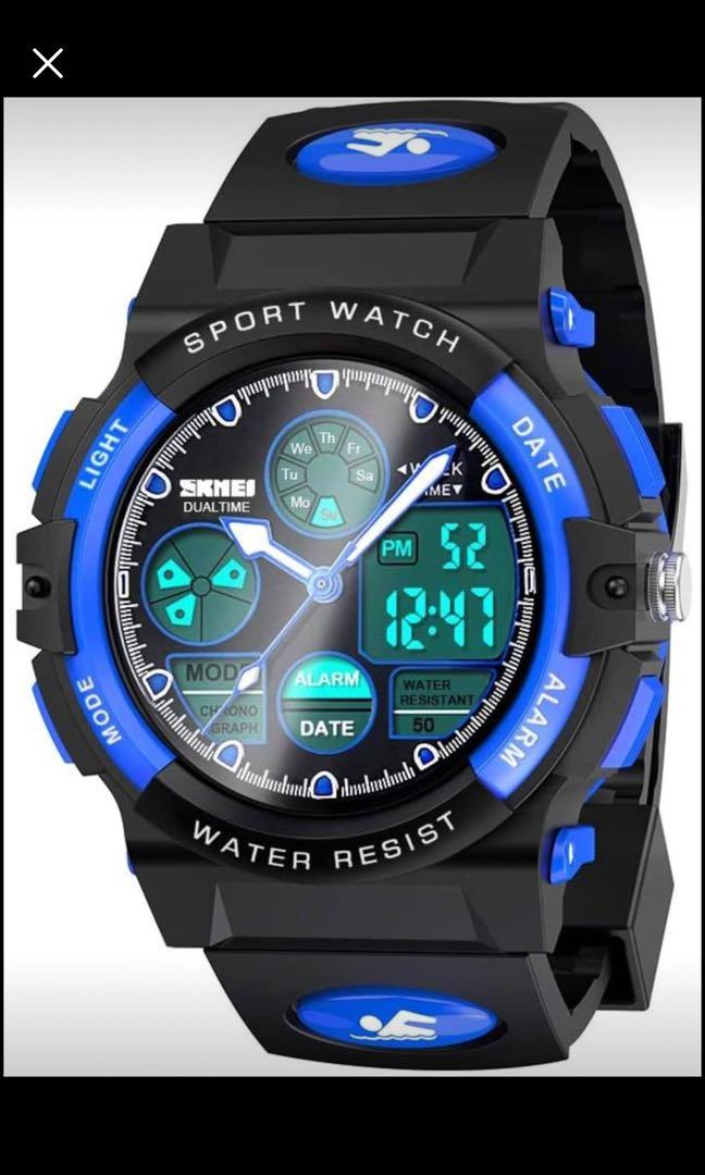 Brand new  LED Waterproof Sport Watch for Kids - Best Gifts
