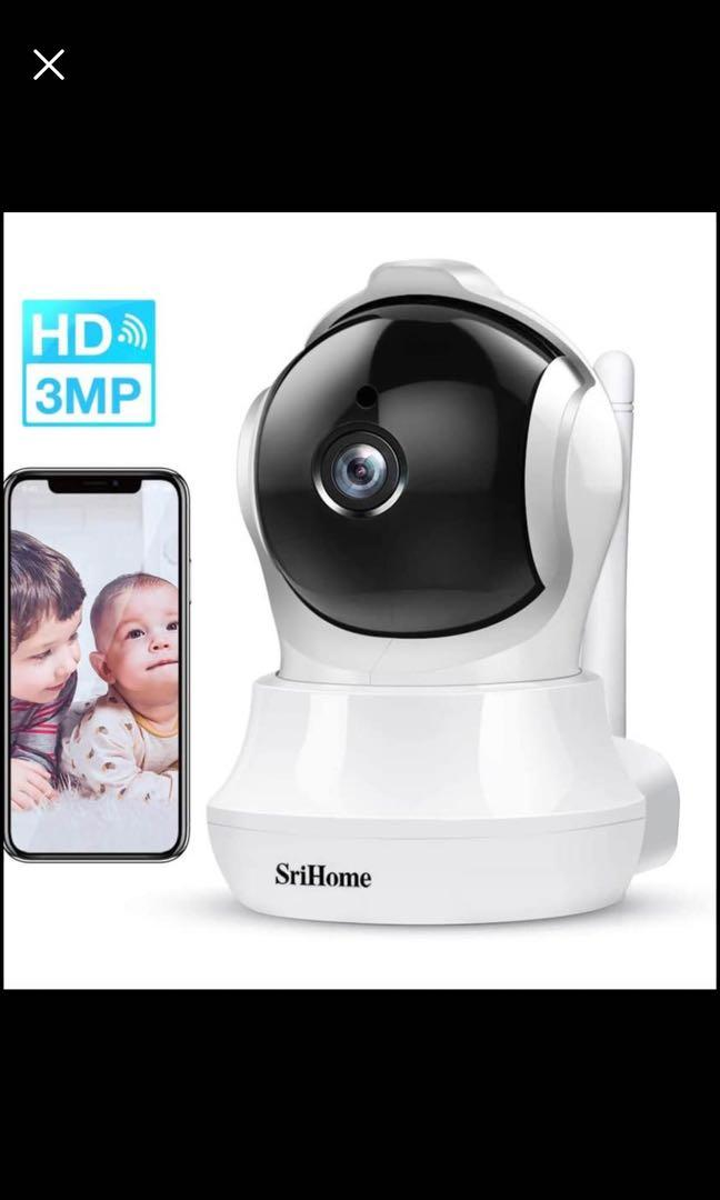 Brand new Security Camera,3MP(2304×1296P) Home IP WiFi Cameras Indoor with Two-Way Audio