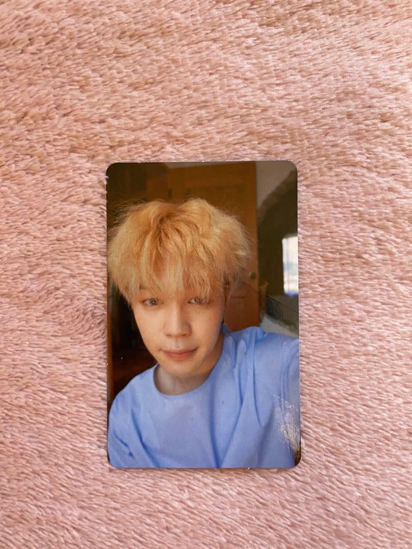 BTS Jimin official photo card - Love Yourself~Her