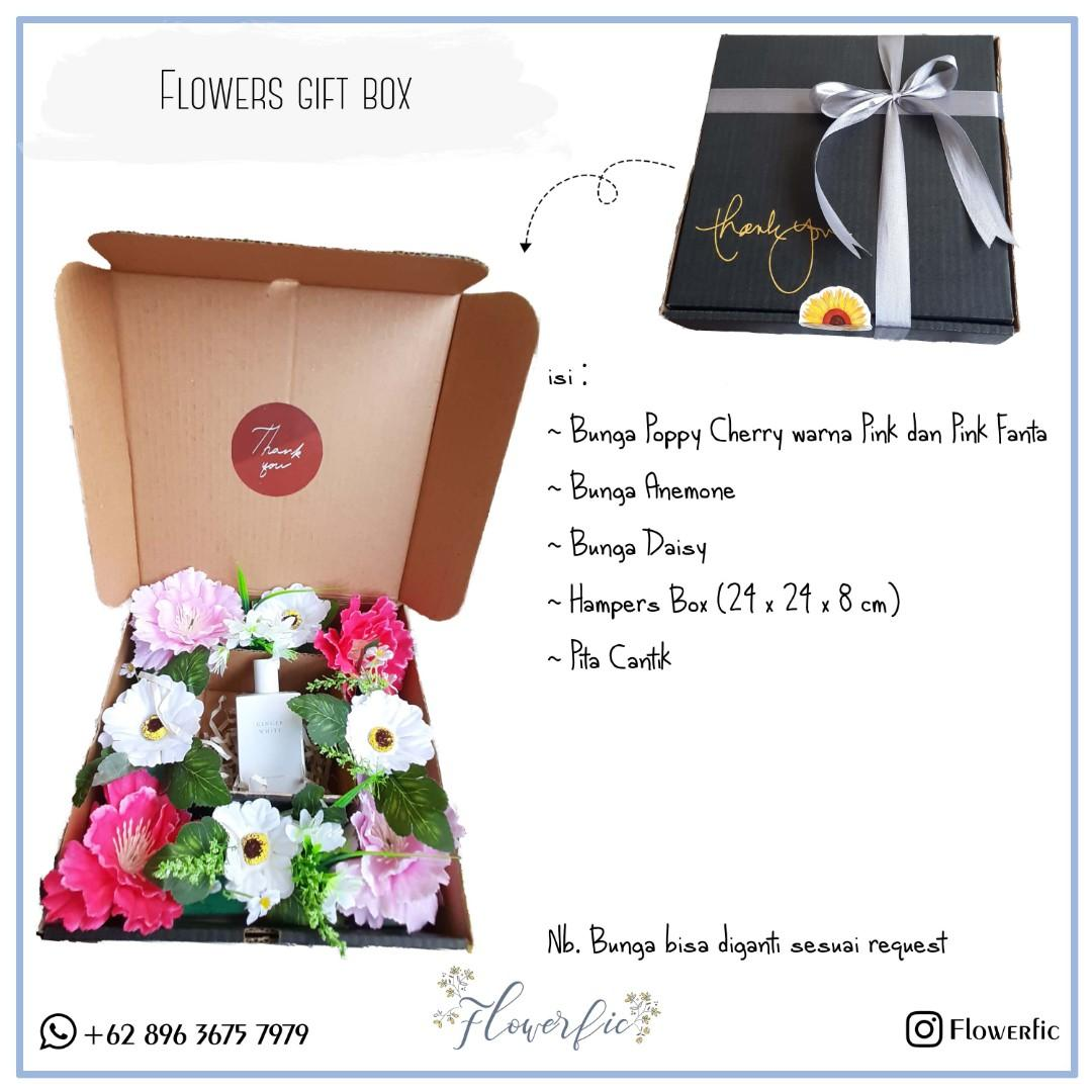 Flowers Box Hampers Gift Box Special