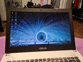Gaming Laptop mulus & lancar jaya ASUS X450JN