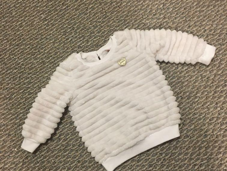 Genuine Juicy contoure girls sweater for 18 M olds