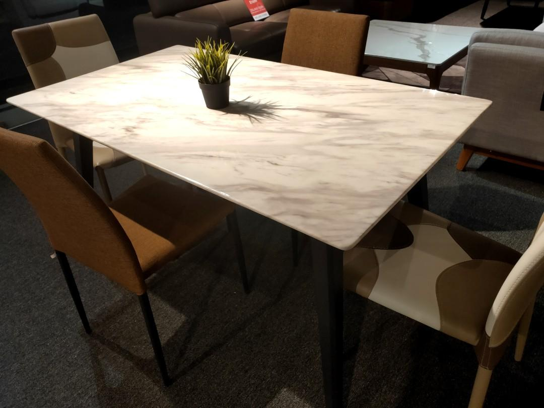 Italian Marble Dining Table Furniture Tables Chairs On Carousell