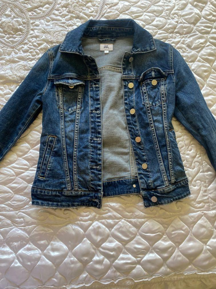 Just Jeans Denim Jacket (Size 6)