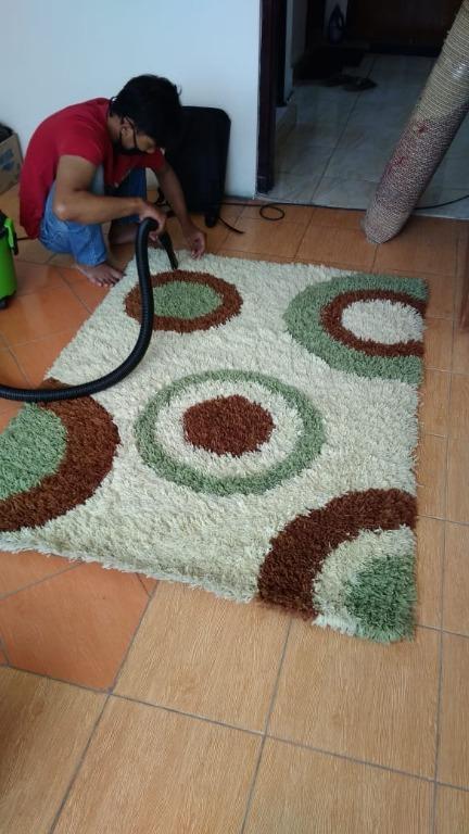 Karpet biasa & karpet wol (cuci karpet biasa dan karpet wol murah Jogja)