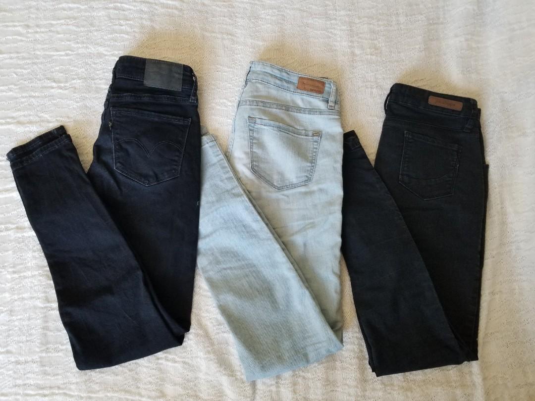 Levi's, Garage, Penshoppe Jeans