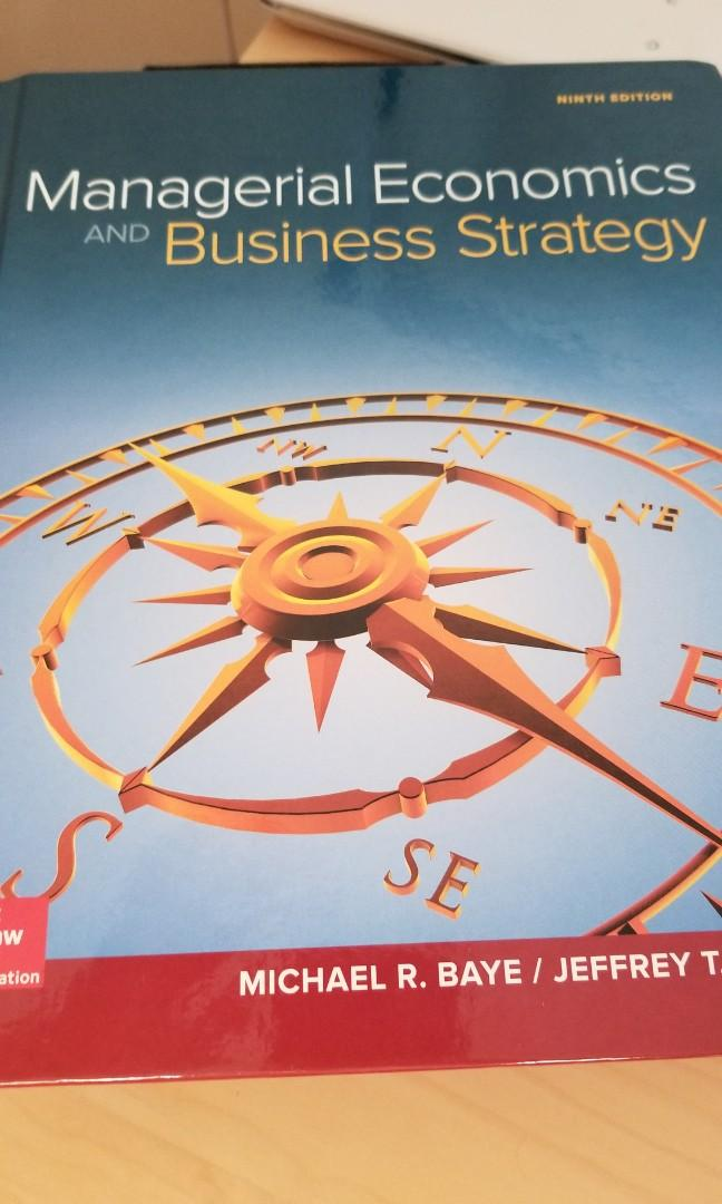 Managerial Economics and Buisness Strategy