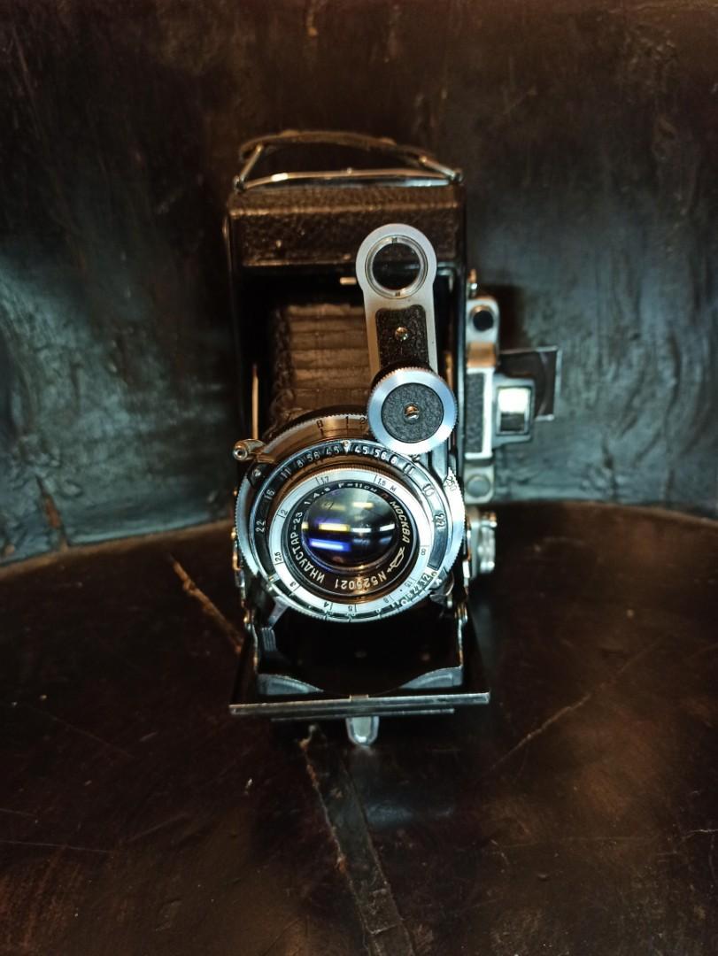 MOCKBA Moskva-2  古董蛇腹120底片相機