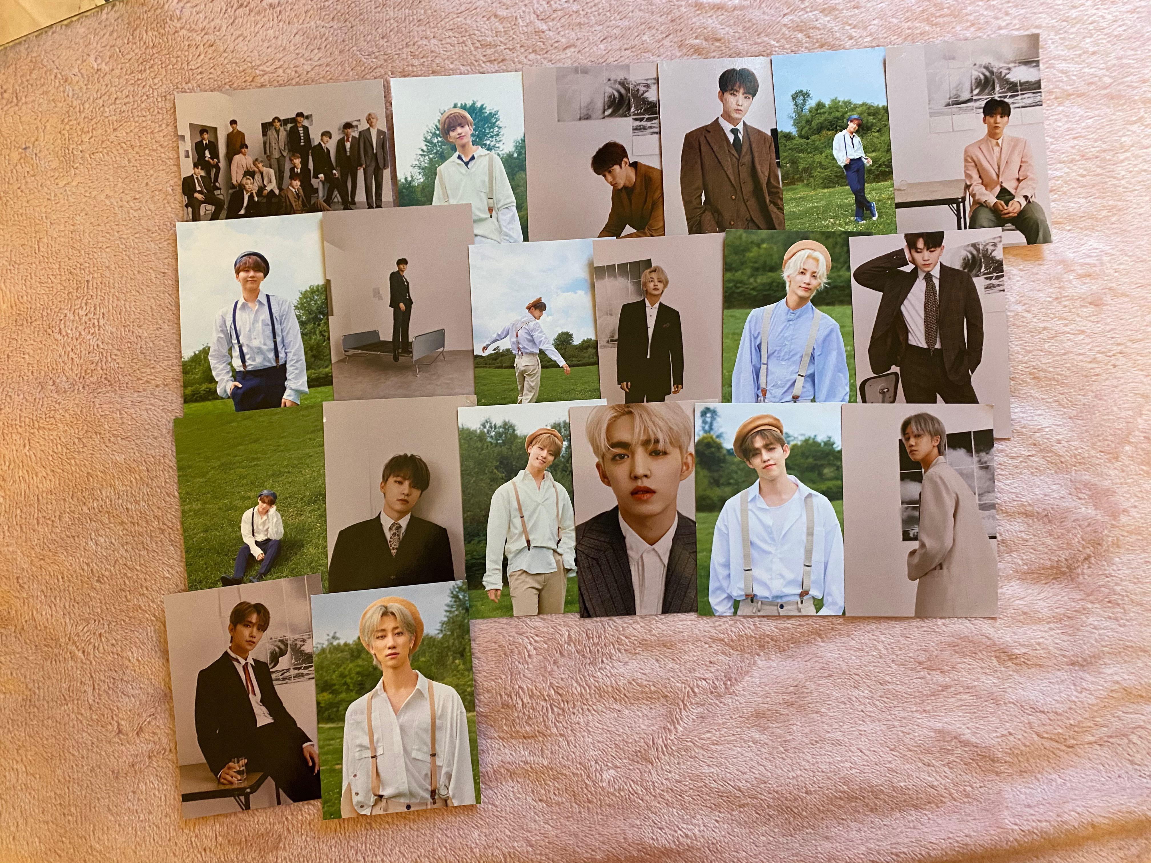 Official Seventeen An Ode Album photo cards