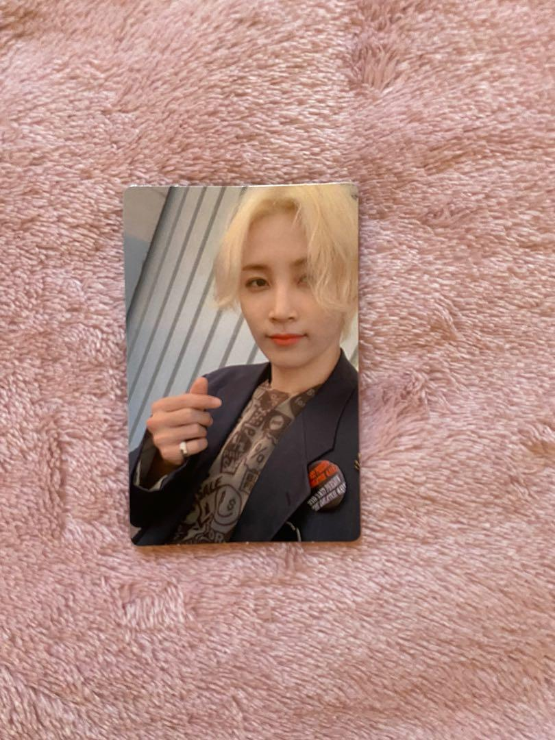 Official Seventeen Jeonghan photo card