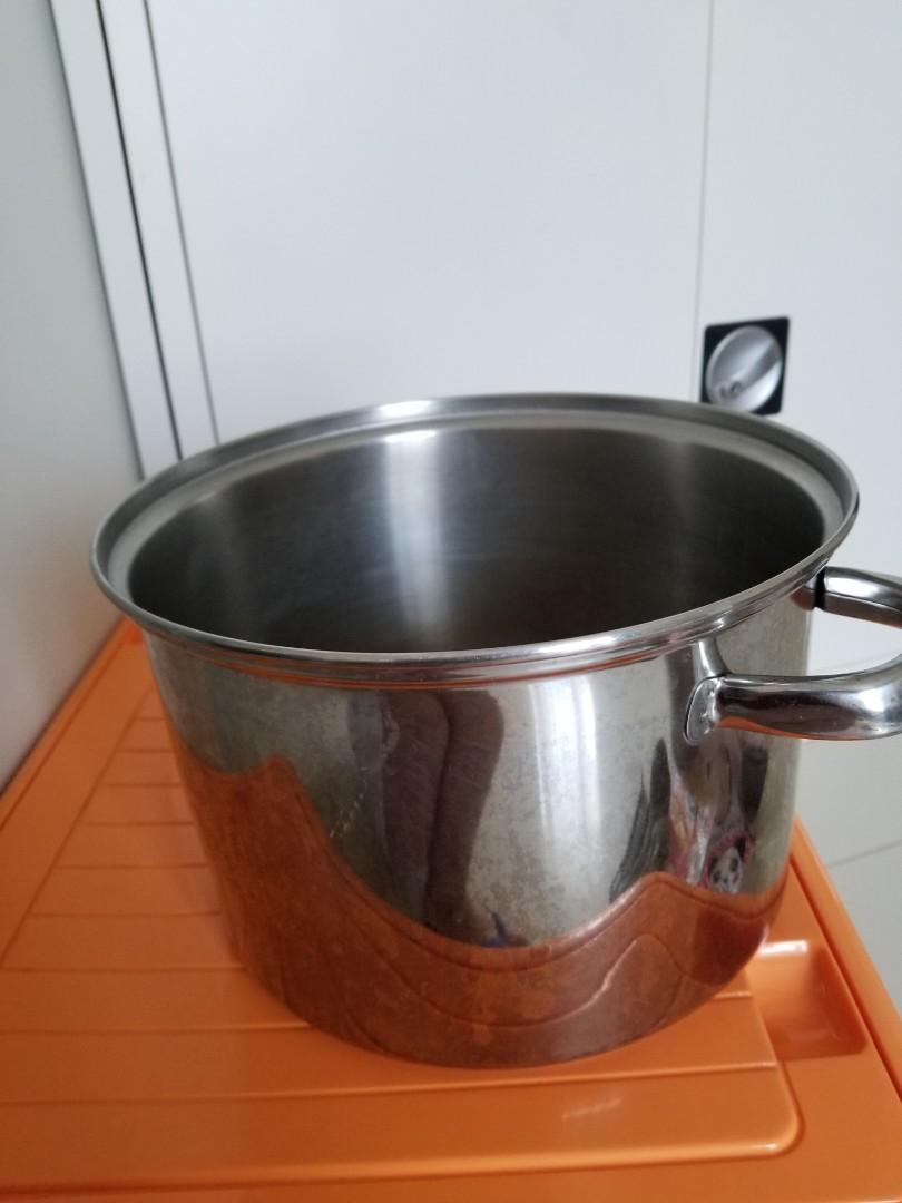Panci stainless 18 / 8 304 besar tivoli pan soup cook cooking