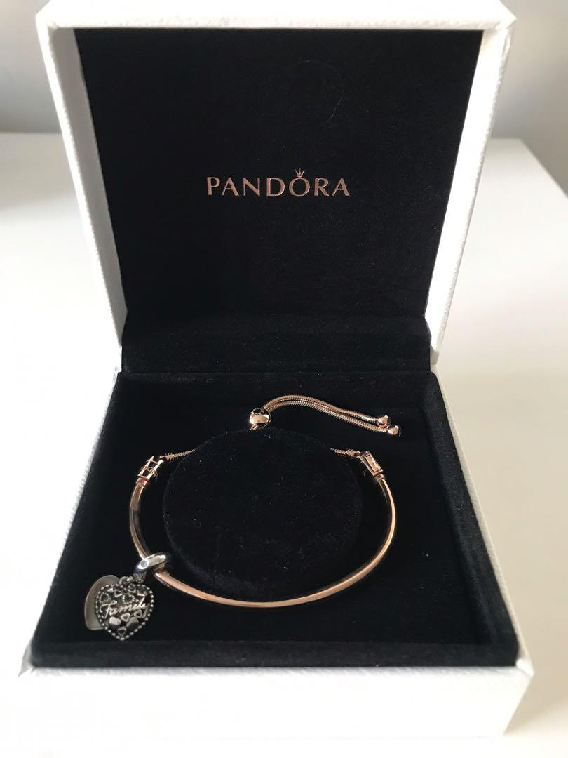 Pandora Snake Chain Slider Beacelet