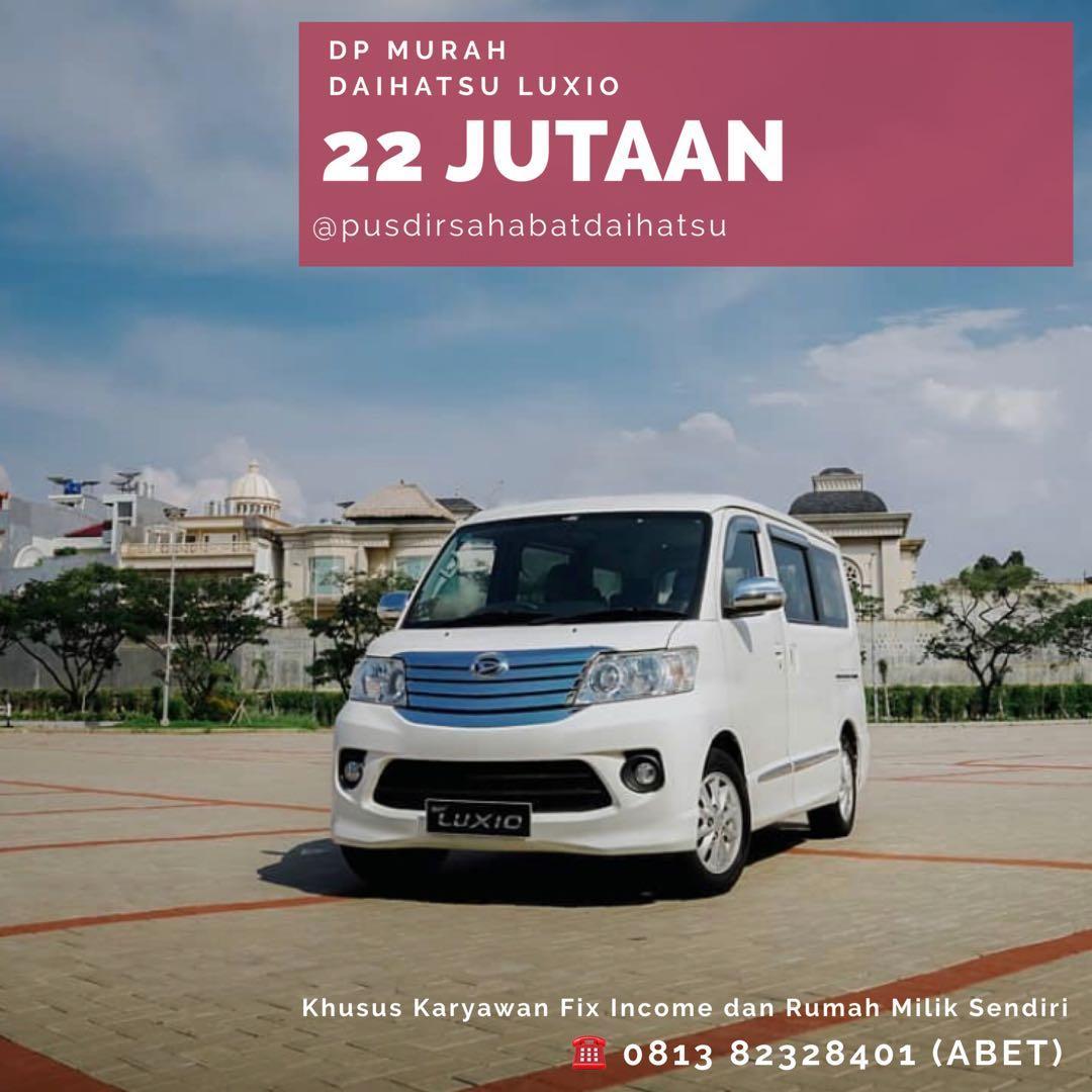 PROMO DP MURAH Daihatsu Luxio mulai 22 jutaan. Daihatsu Fatmawati
