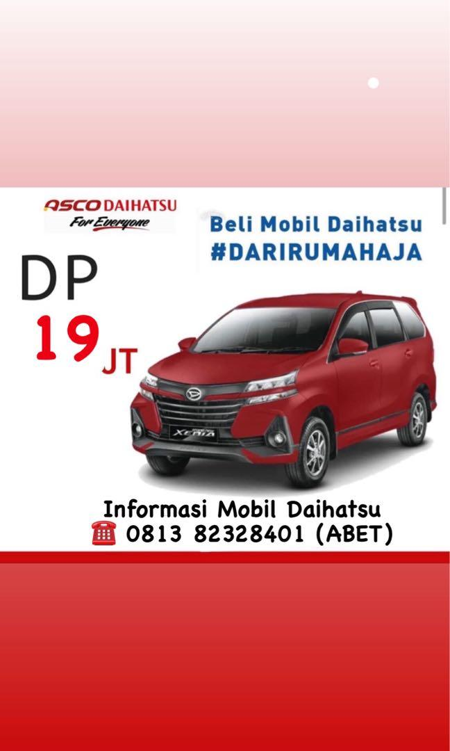 PROMO DP MURAH Daihatsu Xenia mulai 19 jutaan. Daihatsu Fatmawati