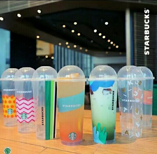 55k for 7pcs Reusable Starbucks cup