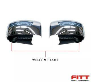 Side Mirror with LED welcome lamp