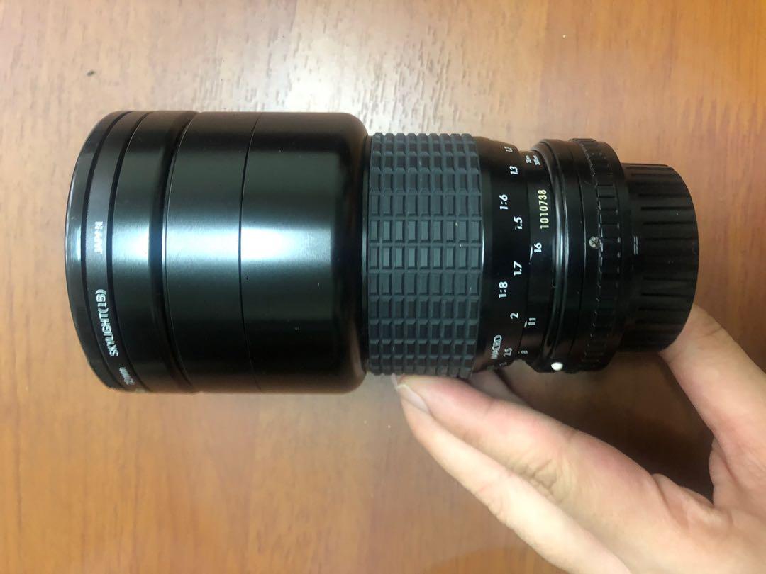 SIGMA 中古鏡頭 28-200mm f1:4~5.6贈測光表及相機清潔