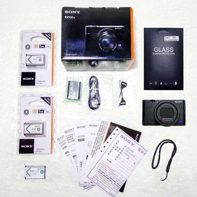 【全機貼膜】Sony RX100 M5公司貨+3顆電池+全機質感磨砂貼膜+★限量贈送128G記憶卡★