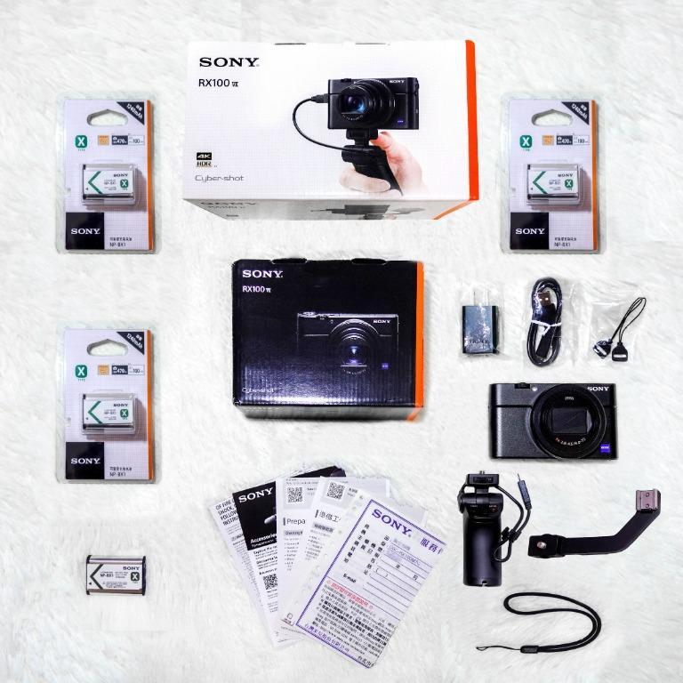 【極新高保固】Sony RX100 M7G公司貨+VCT-SGR1手持握把+冷靴支架+4顆原廠電池+★限量贈送128G記憶卡★