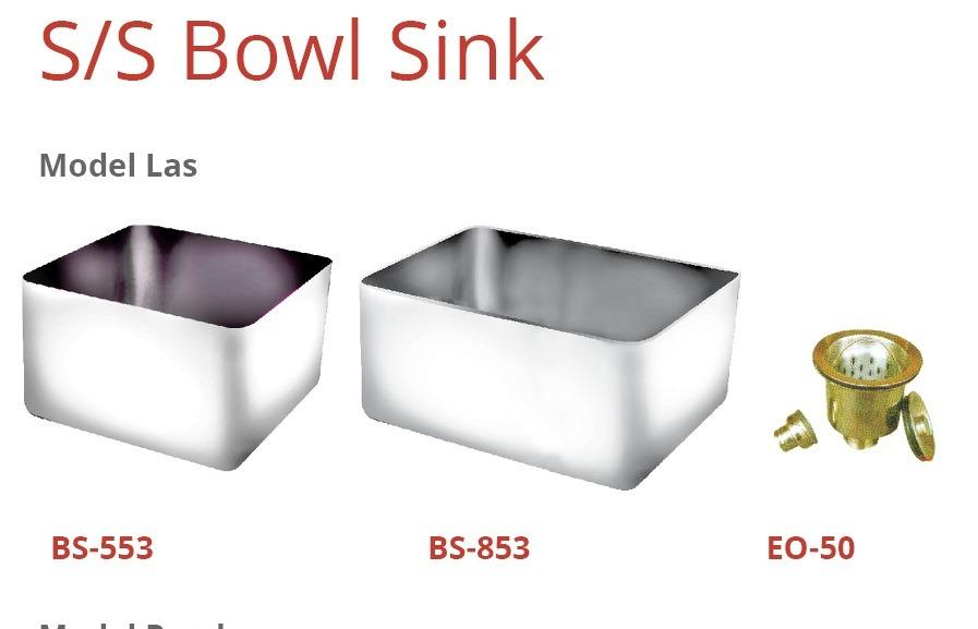 S/S BOWL SINK (EO-50)