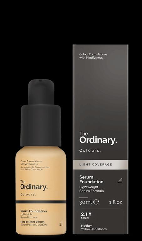 The Ordinary Serum Foundation 2 1 Y Health Beauty Face Skin Care On Carousell