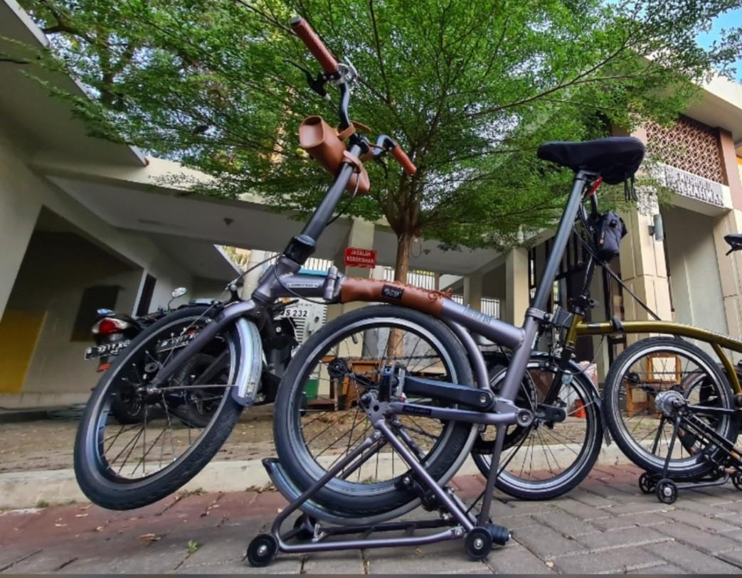 Sepeda lipat Trifold s1 gen 2