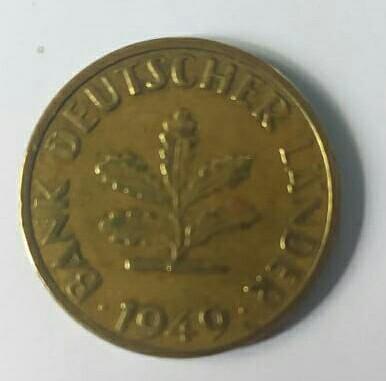 Coin p fenning 1949