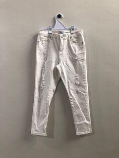 Valleygirl White Jeans