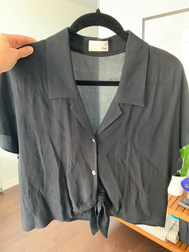 Wilfred Free Blouse - Black - Brand new condition - small