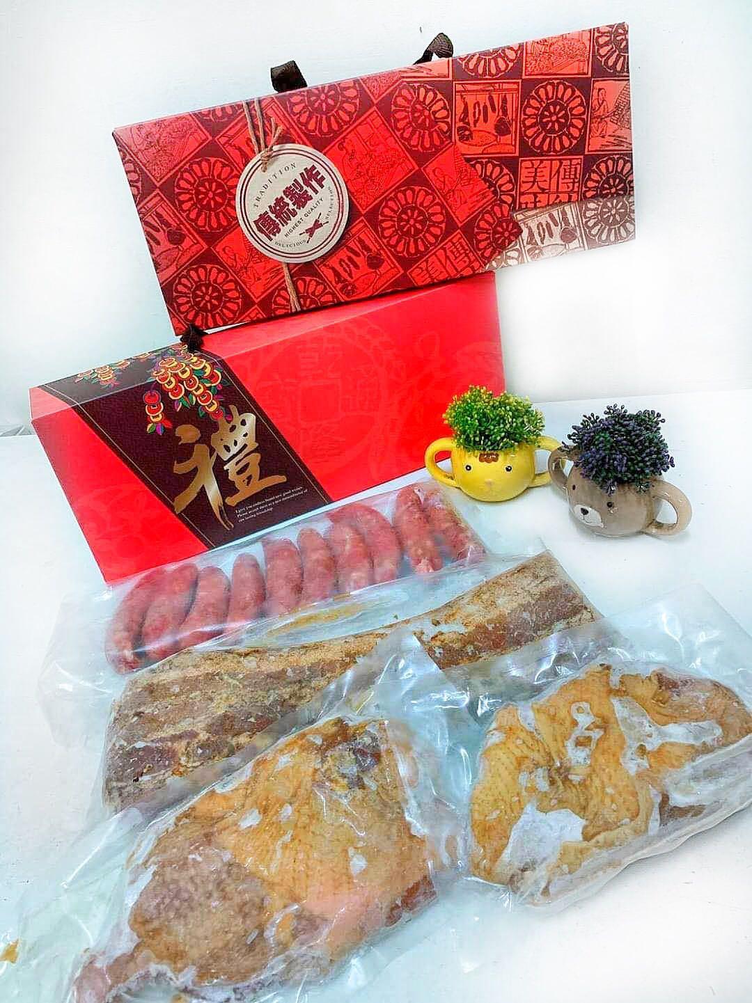 中秋禮盒,可單買鹹豬肉ㄧ條200
