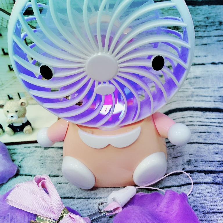(來挖寶網路批發零售)可愛兔兔風扇~下標賣場任一商品免費送