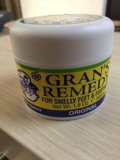 紐西蘭 Gran's Remedy 老奶奶 鞋粉 除臭粉 50g (黃色/原味)