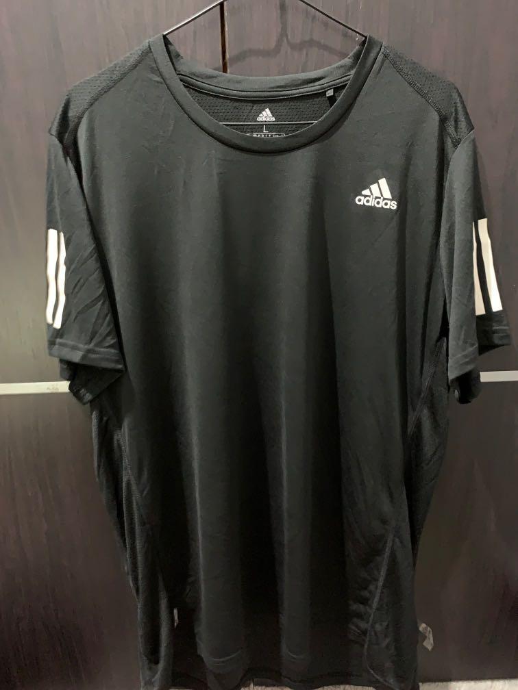 Adidas Running Tee Black (ORI) size L