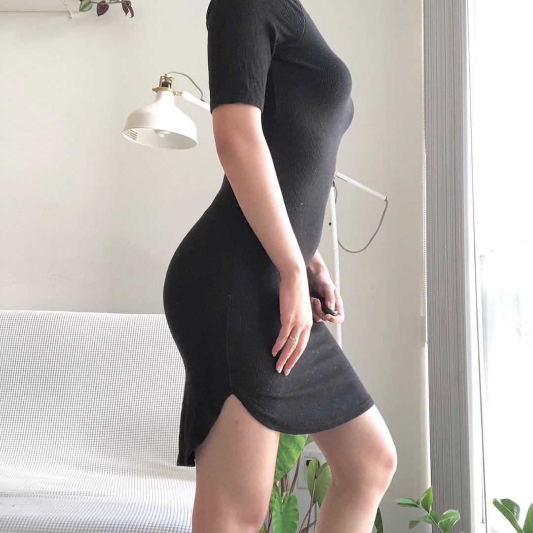 Basic black dress