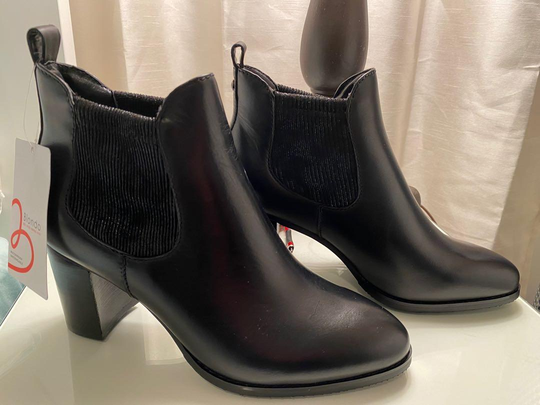 Blondo leather ankle boots for sale