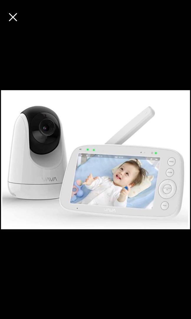 "Brand new Baby Monitor,  720p 5"" Hd Display Video Baby Monitor with Camera and Audio"