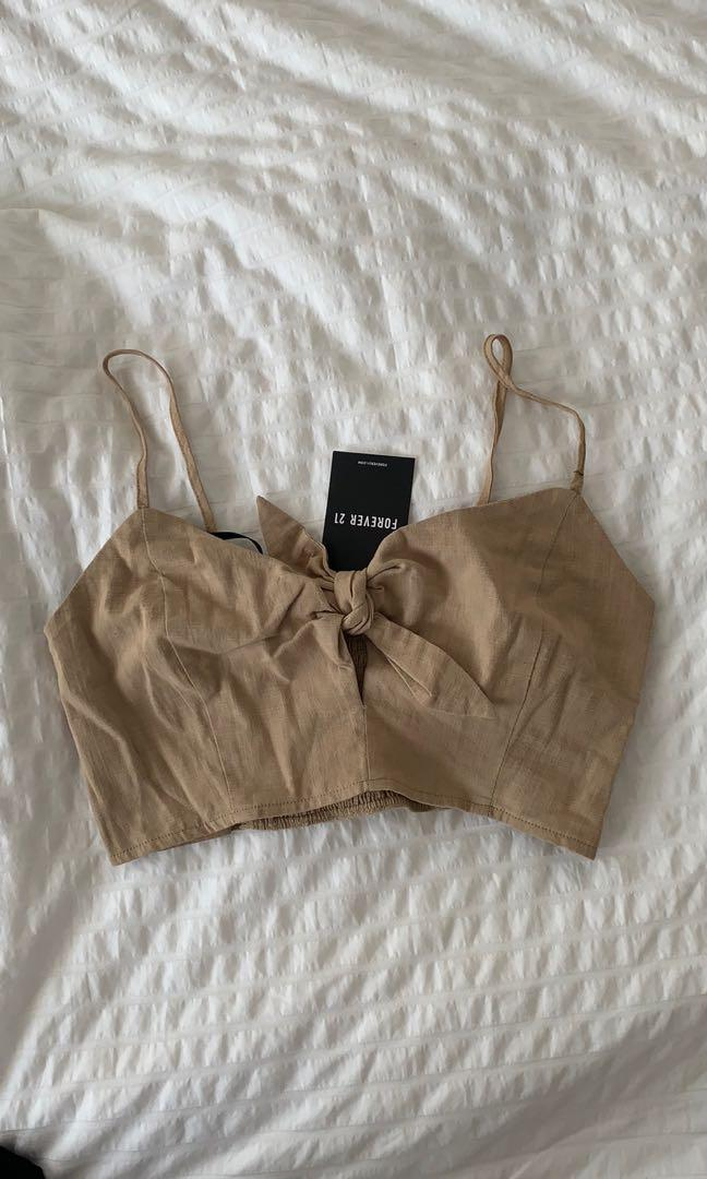 Brand new bralette cropped top
