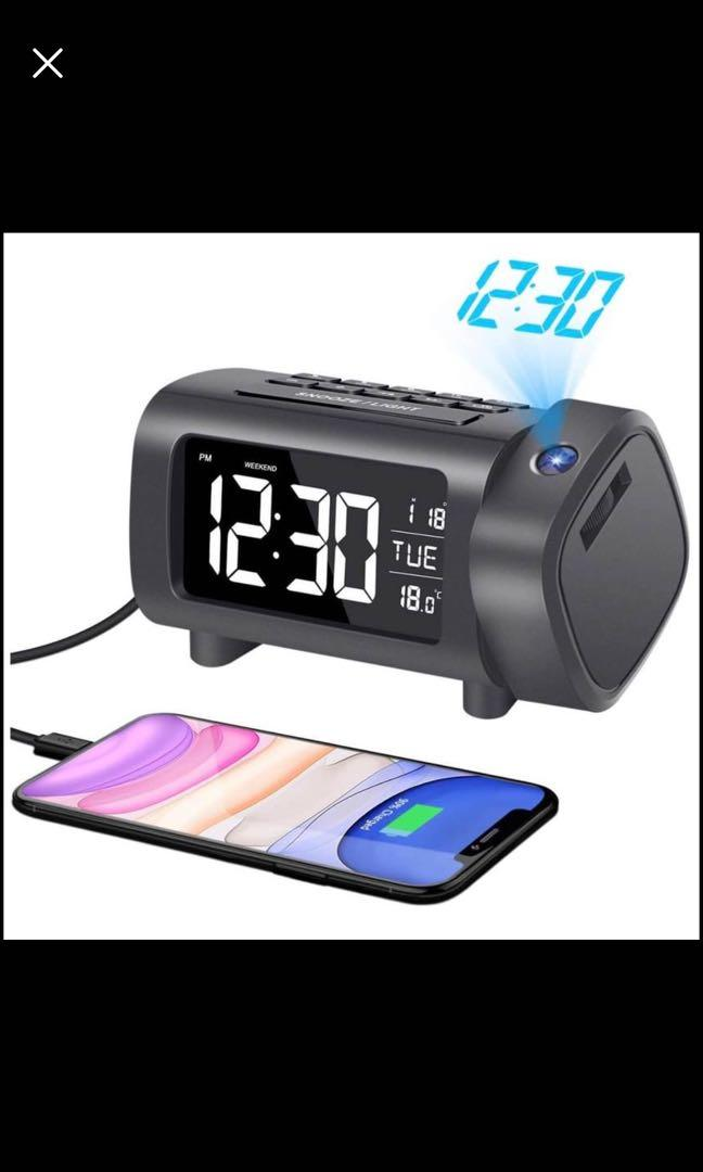 Brand new Projection Alarm Clock, Alarm Clock with Projection,