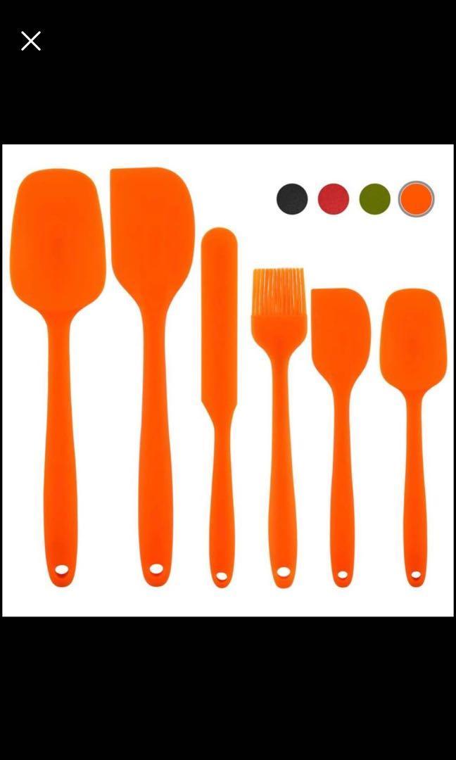 Brand new Silicone Spatula Spatula Kitchen Utensil Non-Stick Rubber