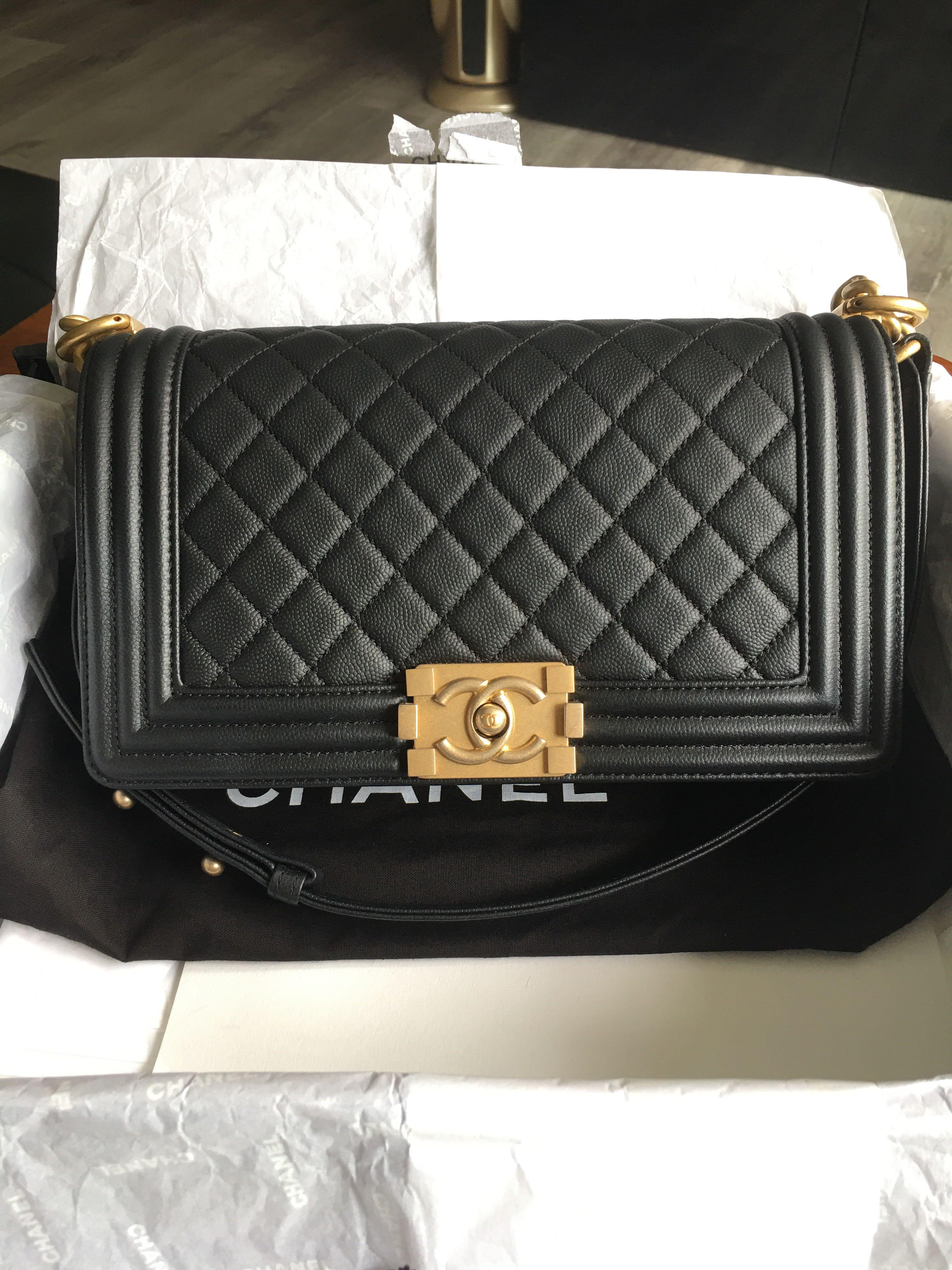 Chanel Boy Old Medium Bag