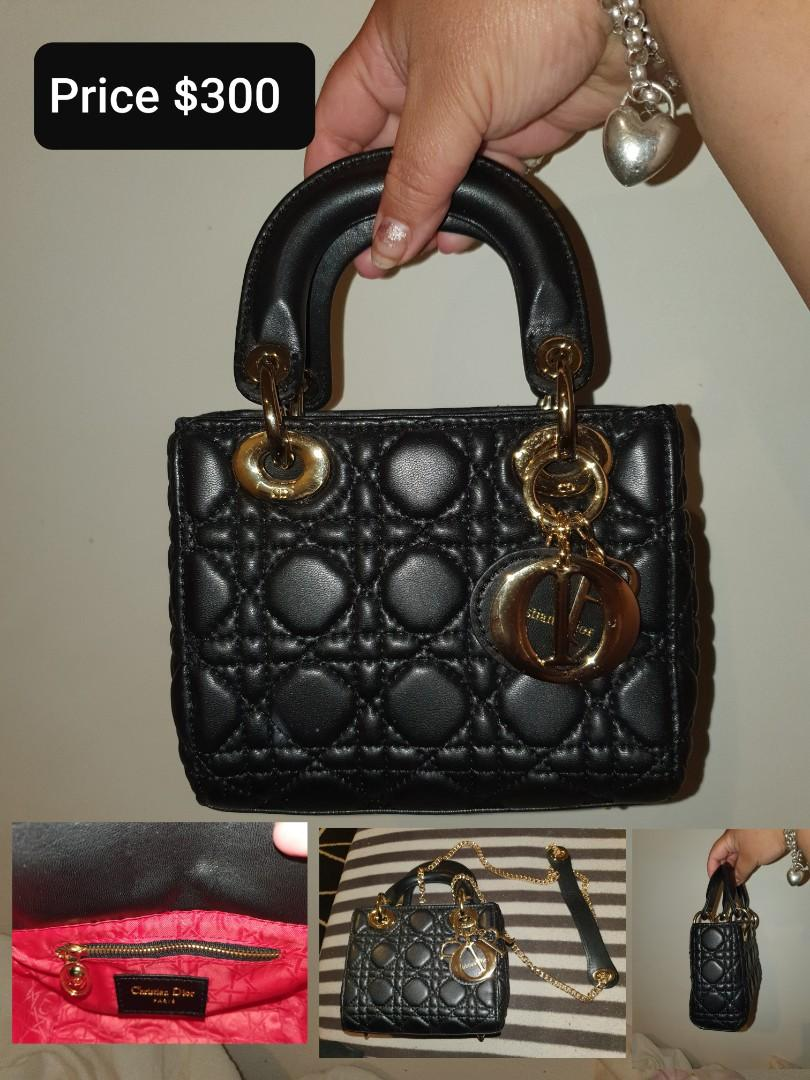 Christian Dior Black Mini Handbag