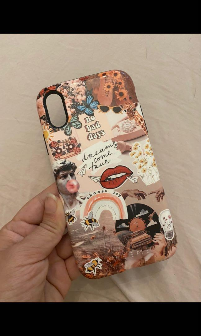 Collage IPhone XR phone case