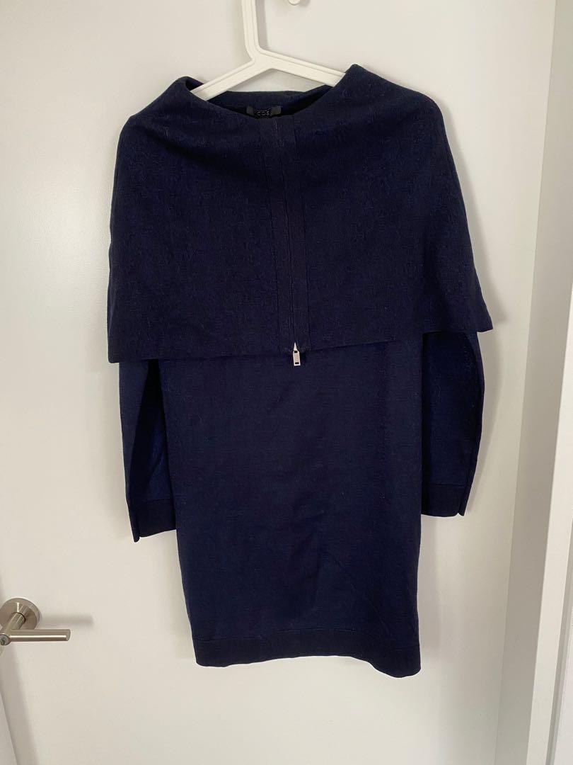 COS Blue Top/Dress - Size S