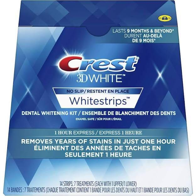 CREST3D 1 hour express white strips