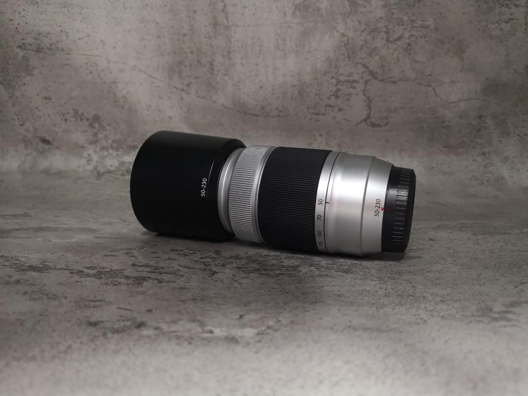Fujinon XC 50-230mm Berjamur Silver Fuji Fujifilm