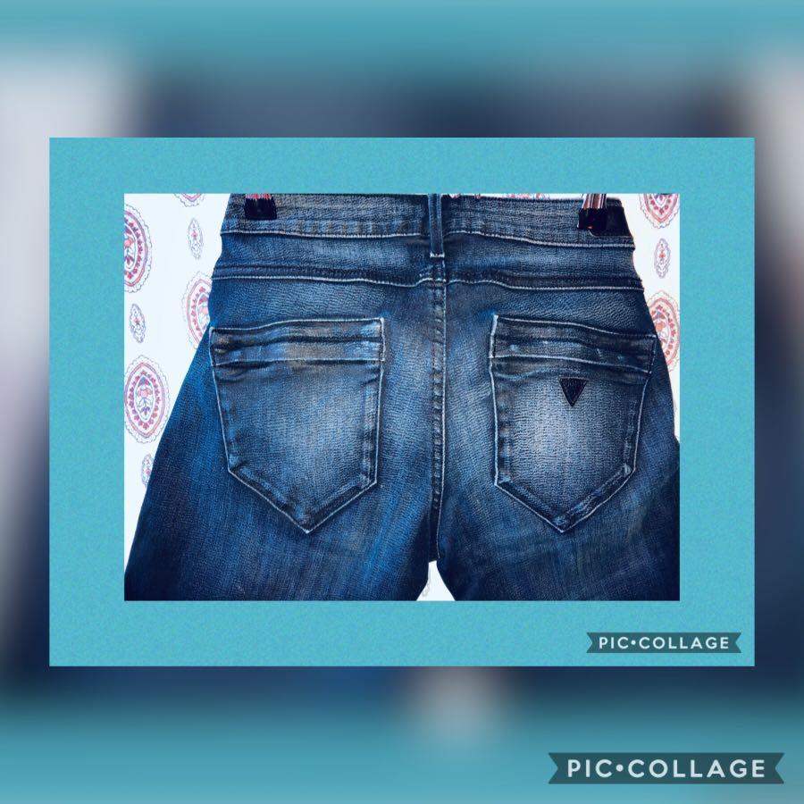 Guess Jeans Like New-Zippered Hem