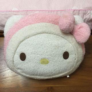 Hello Kitty臉造型抱枕