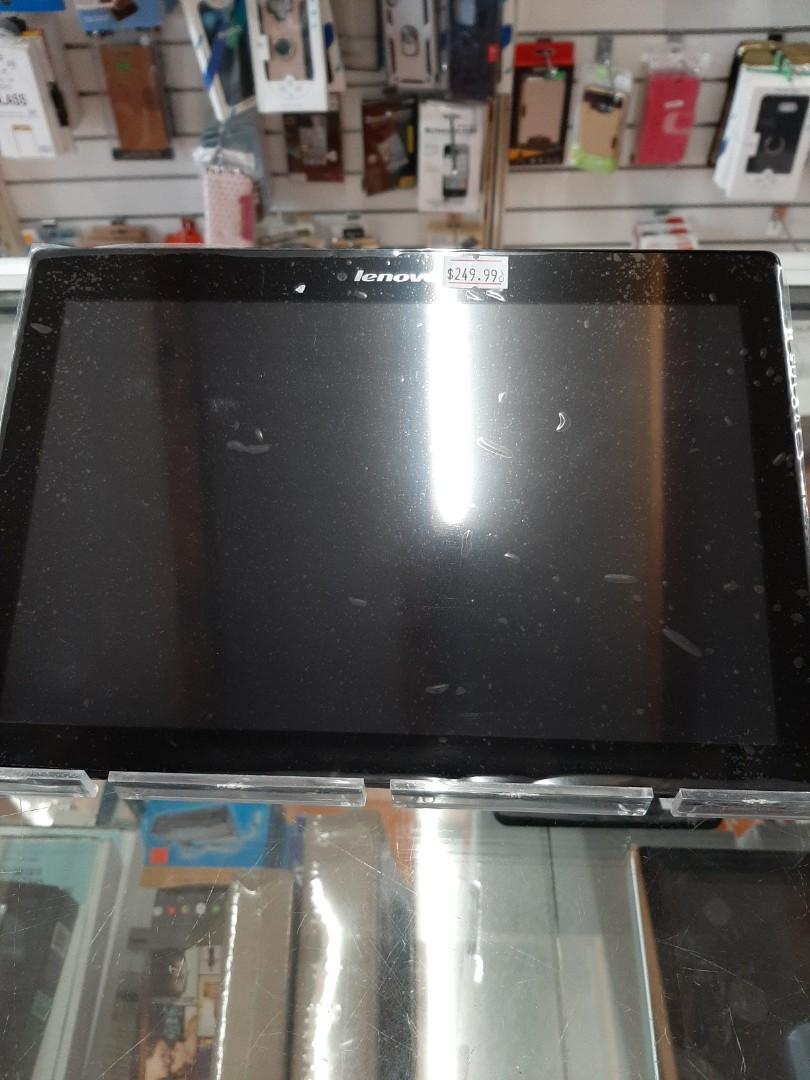 """Lenovo Tab E10 ZA470006US Qualcomm APQ8009 (1.30GHz) 2 GB LPDDR3 Memory 16 GB eMCP Flash Memory 10.1"""" 1280 x 800 Tablet PC Android Oreo Slate Black"""