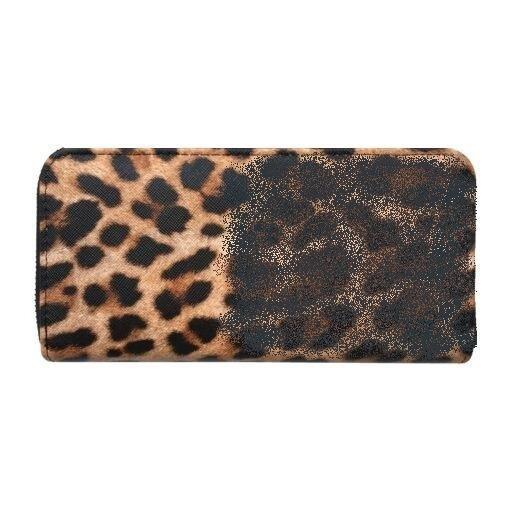 Leopard Pattern Wallet w/ Carrying Strap