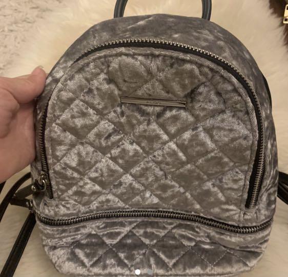 Mini Backpack grey